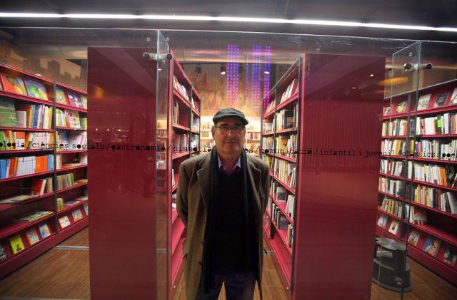 L'escriptor borrianenc Octavi Monsonís al Centre Octubre de València. Foto Jesus Císcar.