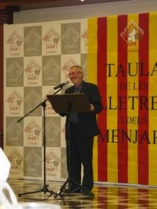 Homenatjat per la Taula de les Lletres i el Menjar de l'Alcúdia