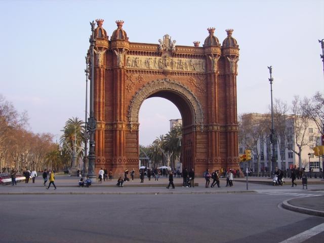 Arc del Triomf a Barcelona, autèntica porta al Xinatown. Foto: F Viadel.