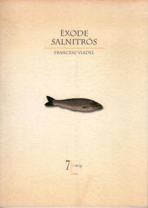Portada d'Èxode salnitrós de Francesc Viadel.