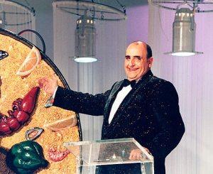 El desaparegut showman Joan Monleon en una imatge dels inicis de Canal 9.