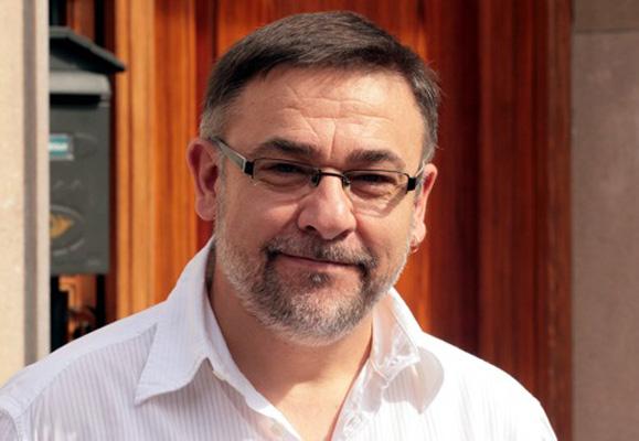 L'escriptor Manel Alonso en una imatge recent.