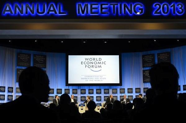 Imatge dels participants de la WEF de Davos. AP/Keystone/Laurent Gillieron.