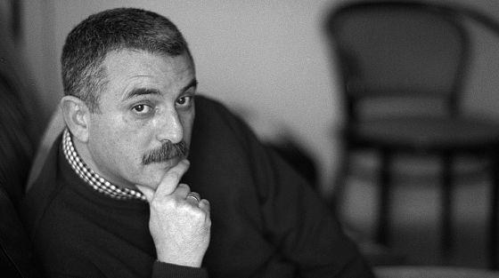 El poeta i editor, Joan Navarro. Foto de Jesús Císcar.