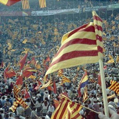 Aplec 9 d'octubre a la plaça de bous de València, 1978.