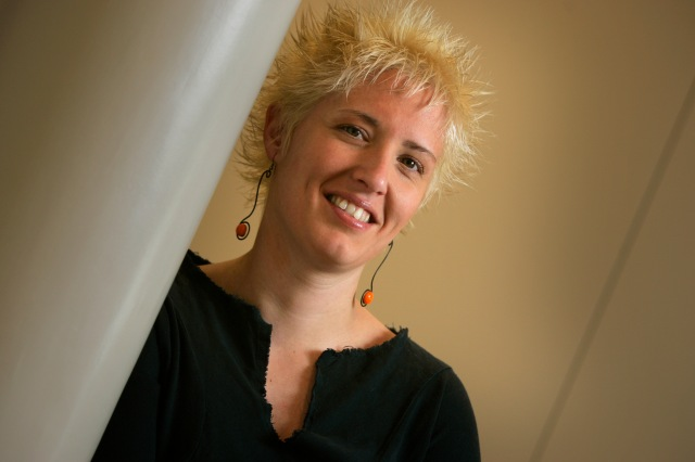 La periodista, Gemma Aguilera.