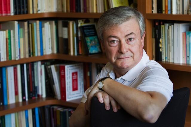 L'escriptor valencià, Enric Sòria. Foto: Pere Virgili.
