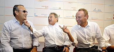 Carlos Fabra, Alfonso Rus i Alberto Fabra.