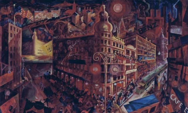 Pintura de George Grosz