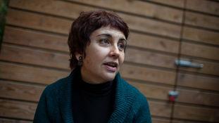 La periodista Cristina Palomar autora del llibre Això és una dona!