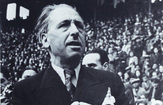 El president de la Generalitat, Lluís Companys.