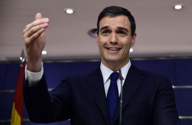 El diputat del PSOE, Pedro Sánchez.