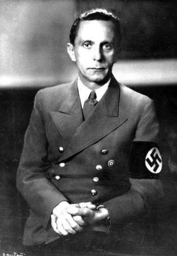 Joseph Goebbels. Foto/Bundesarchiv.