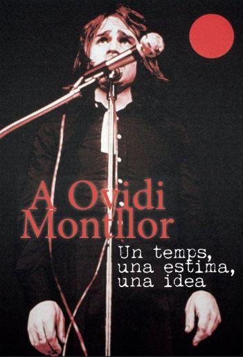 Cobert del llibre homenatge a Ovidi Montllor.
