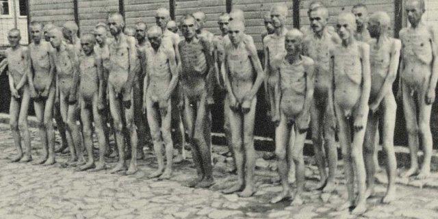 Presoners a Mauthausen. Foto editorial, RBA.