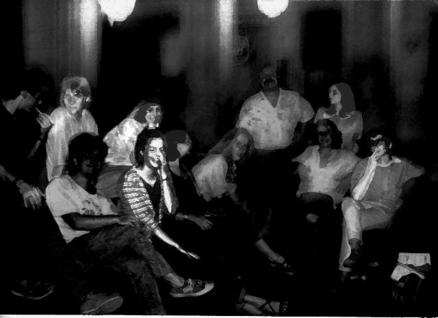 Immortals, Barcelona 1988. Foto, Anònima.