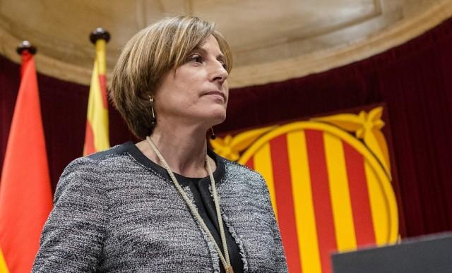 Carme Forcadell, presidenta del Parlament de Catalunya.
