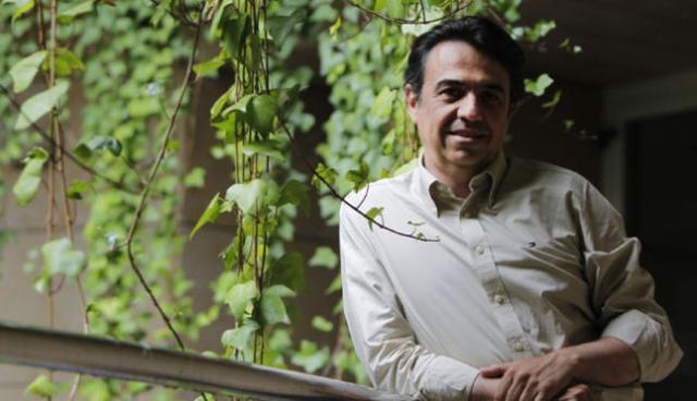 L'escriptor Martí Domínguez. Foto/ El Temps.