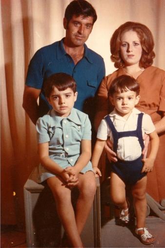 Família real a finals dels anys 70.