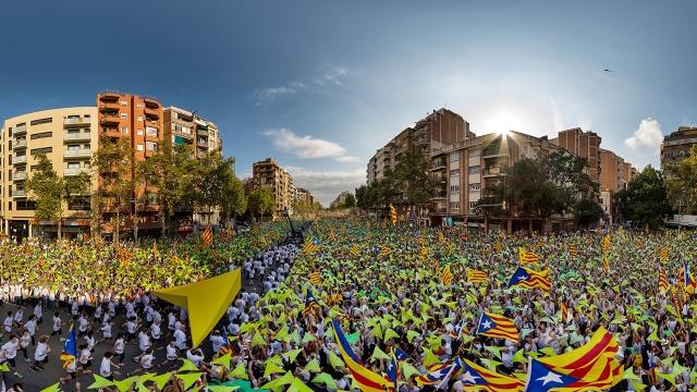 La Via Lliure, en 360. FOTO: Carles Balsells.