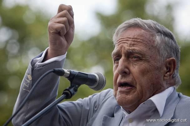 El metge Oriol Doménech, líder dels Grups Nacionals de Resistència. Foto/Nació Digital.
