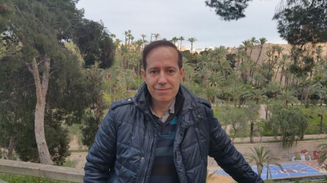 Josep Escribano, president d'El Tempir d'Elx en una imatge recent.